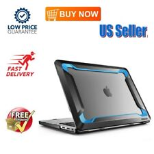 2017  Macbook Pro 13 Inch Case Heavy Duty Dual Layer Cover for Men Blue NEW