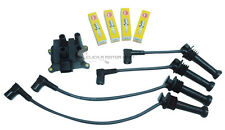 FORD FOCUS 1.4 1.6 MK2 IGNITION COIL PACK HT PLUG LEADS SET NGK SPARK PLUGS