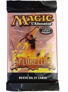 4x Booster Magic L'Adunanza Esperti Flagello 60 Carte Italienisch