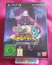 NARUTO SHIPPUDEN ULTIMATE NINJA STORM 3 TRUE DESPAIR EDITION SONY PS3 NEUF