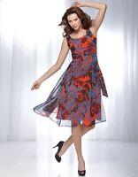 Bravissimo Full Skirt Dress by Pepperberry in Multi Color RRP £75 (57)
