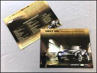 2002 2003 Chevrolet SSR Truck Original 1-page Car Brochure Collectors Card