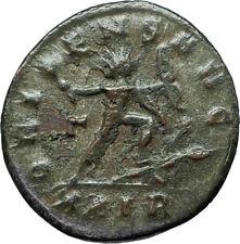 AURELIAN 274AD Rome Authentic Ancient Original Roman Coin w SOL SUN GOD i66342