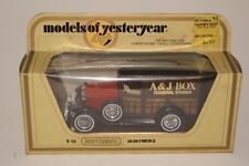 MATCHBOX Models of Yesteryear, Y-21 1930 Ford Model A Station Wagon, A&J Box