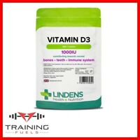 Lindens Vitamin D3 1000IU 360 Tablets, Bones, Teeth, Immune System