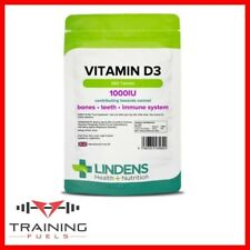 Lindens Vitamina D3 1000IU 360 compresse, Ossa, denti, sistema immunitario