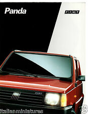 FIAT PANDA YOUNG CLX Dance 4 x 4 Trekking 1991 8 PAGINA ITALIANO BROCHURE PROSPEKT