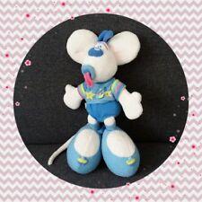 Peluche Doudou Diddl bébé bleu, tétine, sourire, dernière génération TBE 35cm