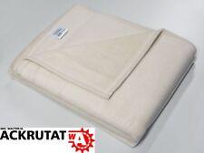 3x Wolldecke Sevilla weiß Wohlfühldecke Kuscheldecke 200x150 Microfaser Decke