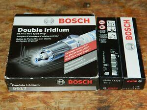 (6) BOSCH 9617 DOUBLE IRIDIUM SPARK PLUG FOR ENCLAVE LACROSSE CTS STS CAVALIER