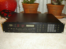Yamaha REV 7 Digital Reverberator, Reverb FX Parametric Equalizer, Vintage Rack