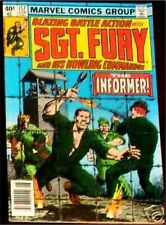 SGT. FURY 152 SERGEANT 1963 & HIS HOWLING COMMANDOS NICK AGENT OF SHIELD F+