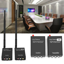 2,4 GHz Wireless AV Transmitter Übertragung Empfänger Audio Video Sender Signal☆