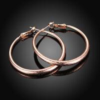 18K 18CT Yellow//Rose//White Gold GF Christmas Bell Tree Stud Earrings EA665 Gift