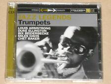 JAZZ LEGENDS -Trumpets- (Louis Armstrong, Ellington, Miles Davis) 2xCD NEU, OVP