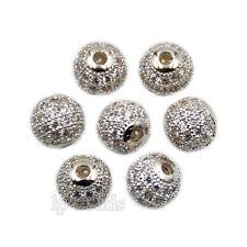 AAA Zircon Micro Pave Round Ball Rhinestones Bracelet Connector Charm Beads