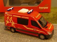 1/87 Herpa MB Sprinter Hochdach Feuerwehr Wilsdruff 093491