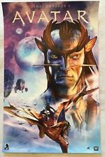 "AVATAR - 11""x17"" Original Promo Movie Poster MINT NYCC Dark Horse James Cameron"