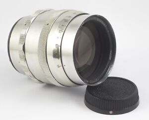 HELIOS 40 F/1.5 85mm TV TELEVISION VIDEO LENS WITH NIKON F MOUNT # 000367