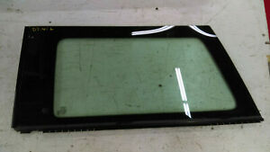 2007 MINI COOPER R56 WINDOW GLASS REAR LEFT QUARTER DRIVER SIDE OEM