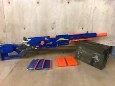 Nerf N Strike Elite Long Strike CS-6 Sniper Blaster + Clip + New Darts Free Post