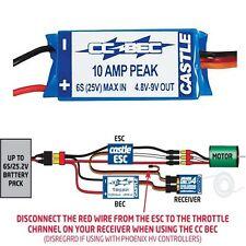 Castle Creations 0400 BEC 10A 6S Switching Regulator Battery Eliminator
