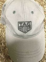 TAG Heuer Genuine Novelty Logo embroidery Cap Hat (Light Gray) Free size(No box)