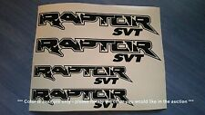 Ford Raptor SVT Emblems / Stickers / Decals - 4 total, multiple colors