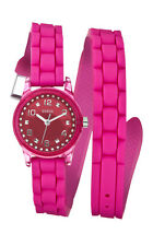 Guess w65023l3 Micro Mini Women's Watch Pink with Wraparound
