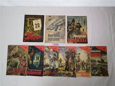 9 x Erzählerreihe 1957 / 60 Verlag Ministerium Nationale Verteidigung Roman Heft