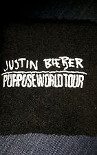 Justin Bieber Purpose World Tour Wristband Sweatband/Local/Crew/Exclusive/RARE