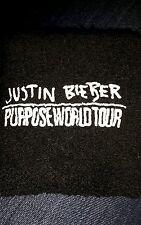 Justin Bieber Purpose World Tour Wristband Sweatband/Local/Crew/Exclusive/RARE