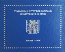 VAX2014.1 - COFFRET BU VATICAN - 2014 - 1 cent à 2 euros