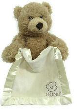 "Baby GUND Peek-A-Boo Teddy Bear Animated Stuffed Animal Plush 11.5"""