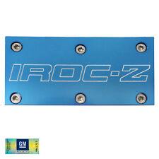 85-90 Camaro IROC-Z TPI Blue Billet Aluminum Throttle Body Plate Cover w/ Screws