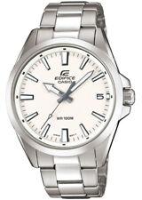 Casio Edifice Reloj Análogo para Hombre Acero Inox Plateado EFV-100D-7AVUEF