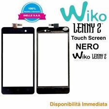 Touch Screen Display Vetro Vetrino per Wiko Lenny 2 Nero Originale