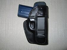 Sig P238 IWB FORMED leather holster, right hand WITH SWEAT SHIELD