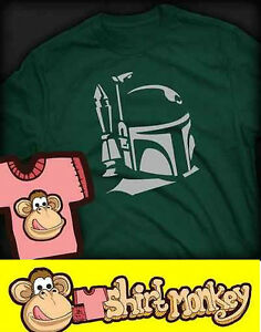 Star Wars inspired Boba Fett T-shirt - Ladies and Gents Many Colours
