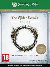 The Elder Scrolls Online - Tamriel Unlimited XBOXONE USATO ITA