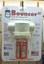Bouncer Inline Beer Wine Filter Homebrew
