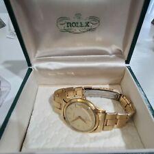 Rolex Vintage 9006 , Rare ,18k Gold  case , Tropical Dial , Original Polish