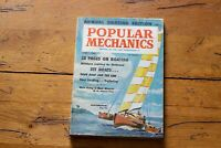 Popular Mechanics Magazine March 1960 Offshore Cruising Kolumaran Jet Boats