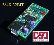 XMOS U8 USB 384K 32B module I2S SPDIF output , support DSD for ES9018 DAC