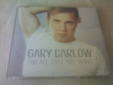 GARY BARLOW - FOR ALL THAT YOU WANT - UK CD SINGLE - PART 1