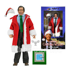 "8"" SANTA CLARK GRISWOLD figure CHRISTMAS VACATION neca RETRO-STYLE CLOTHED doll"