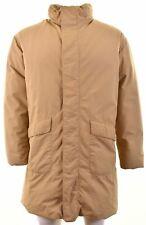ARMANI JEANS Mens Padded Jacket UK 42 XL Beige  AG01