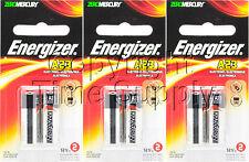 ENERGIZER 23A A23BPZ MN21 V23GA VR22 12 V Alkaline Batteries ( 6 PCS)