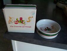 Christmas Cat Bowl Celebrations by Silvestri Holiday Dish Audrey Heffner Design