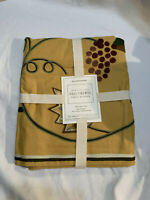 Williams Sonoma Table Runner FALL Crewel 16x108 Cotton NEW